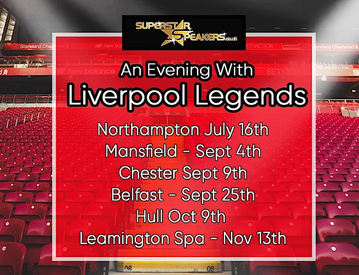 An Evening with Liverpool Legends - Northampton image