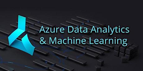 Azure Data Analytics and Machine Learning Bootcamp & Training tickets