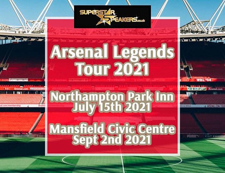 An Evening with Arsenal Legends - Mansfield image