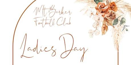 Mount Barker Football Club Ladies Day tickets