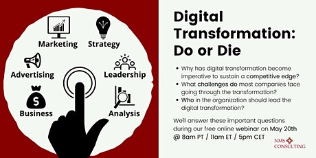 Digital Transformation: Do or Die tickets