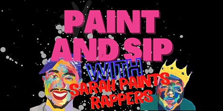 Rappers Paint and Sip @ Upper West Side Cafe with Sarah Paints Rappers tickets
