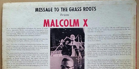 Beyond Detroit Red: The History of Malcolm X in Detroit tickets