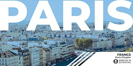 Meetup Women in 3D Printing Paris - Mai 2021 - Online tickets