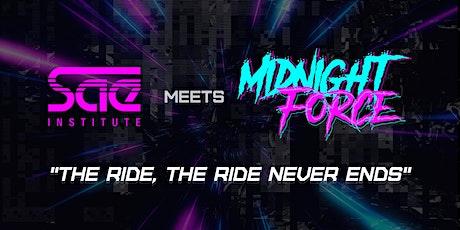 GamJam SAE & MidnightForce tickets