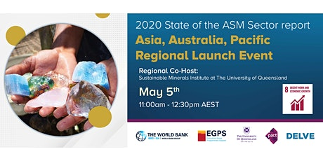 2020 State of ASM Sector Report Launch (Asia, Australia, Pacific) tickets