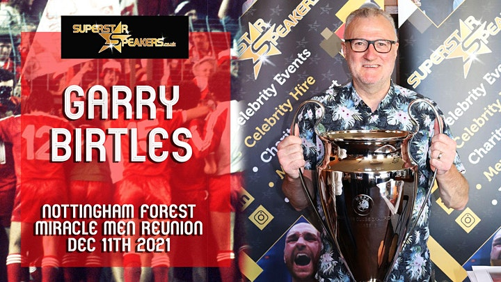Nottingham Forest 79/80 European Cup Winners Teams 40th Anniversary Event image
