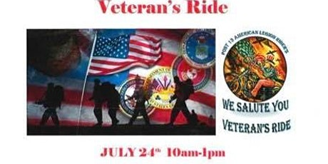 1st Annual Veteran's Ride tickets
