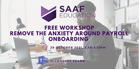 Free Workshop: Remove the Anxiety Around Payroll Onboarding tickets