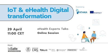 IoT and eHealth Digital transformation Workshop biglietti