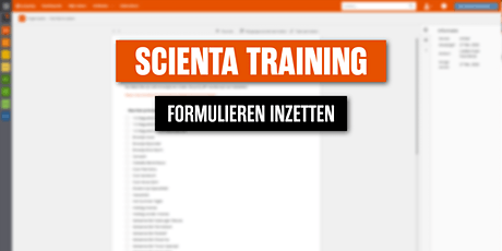 Scienta formulieren training 29 juli 2021 tickets