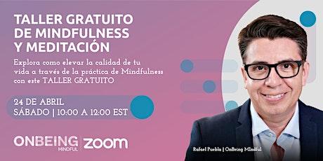 Taller gratuito de mindfulness y meditación entradas