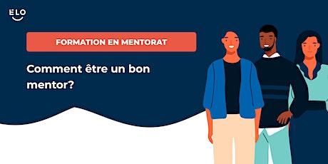 Formation en mentorat: Comment être un bon mentor ? billets