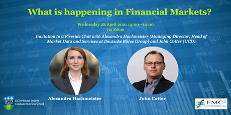 What is happening in financial markets? tickets