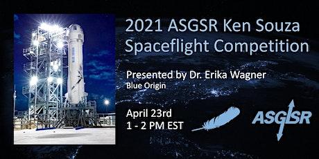 2021 ASGSR Ken Souza Spaceflight Competition Tickets