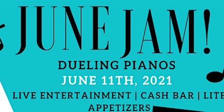 June Jam, Dueling Pianos tickets