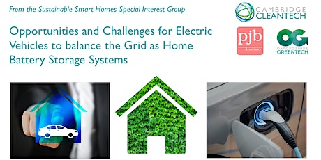 Electric Vehicles  as Home Battery Storage Systems tickets