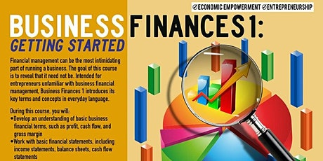 WEBINAR Business Finances 1: Getting Started, Upper Manhattan 5/13/2021 tickets