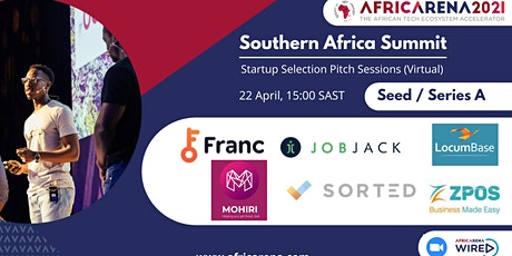 AfricArena Southern Africa  Summit - Selection Event - Seed / Series A tickets