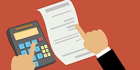 Webinaire : Déclaration d'impôts et Optimisation fiscale biglietti