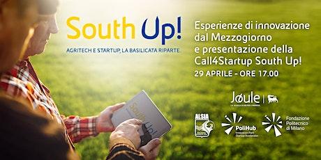 Esperienze di innovazione dal Mezzogiorno e presentazione di South Up! tickets