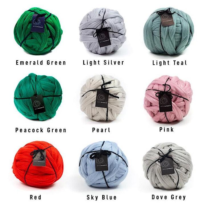 Arm Knitting Blanket Workshop - London image