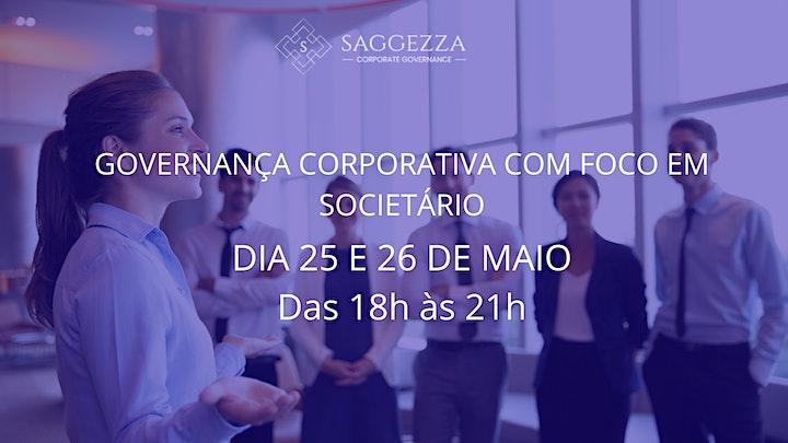Imagem do evento Curso de Governança Corporativa com Foco em Societário