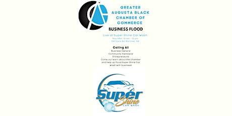 Super Shine Car Wash 'Business Flood' tickets