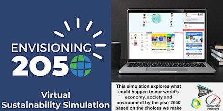 Envisioning 2050: Virtual Sustainability Simulation tickets