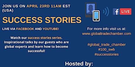 Success Stories Series - Interview tickets
