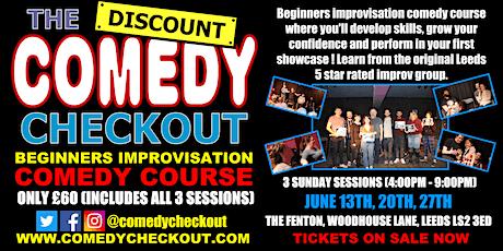 DCC - Beginners Improvisation Comedy Course - June - Leeds (3 Sundays) tickets