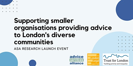 Supporting advice organisations working with diverse communities tickets