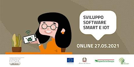2021 OPEN DAY ONLINE - Sviluppo software con tecnologie Smart e IOT biglietti