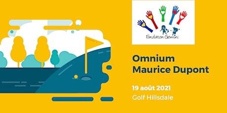 Omnium Maurice Dupont  (édition 2021) billets