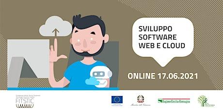 2021 OPEN DAY ONLINE - Sviluppo software Web e Cloud biglietti