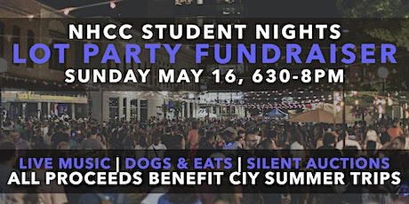 Lot Party - Benefiting the Students CIY trips tickets