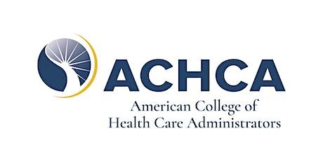 ACHCA D3 - Midwest Post-Acute Executive Leadership Summit 2021 tickets