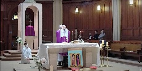 Messe de dimanche 25 avril à 10h tickets