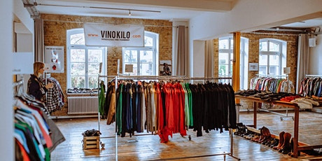 Spring Vintage Kilo Pop Up Store • Luxembourg • Vinokilo billets