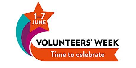Ask about...how to volunteer - Volunteers' Week 2021 tickets