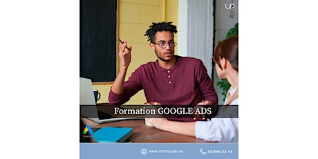 Formation GOOGLE ADWORDS gratuite* (chèques TIC Actiris) billets