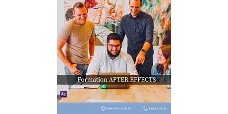 Formation AFTER EFFECTS gratuite (chèques TIC Actiris) billets