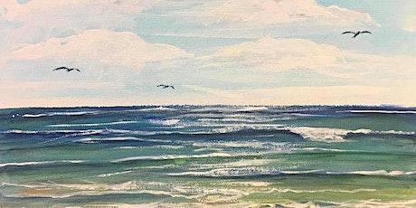 Ocean Scene Painting| Melanie Fay tickets