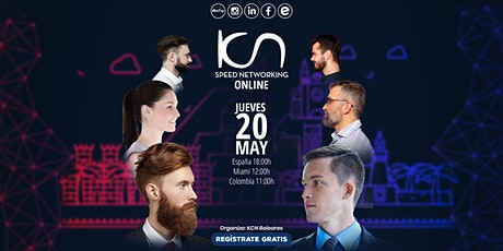 KCN Baleares Speed Networking Online 20May entradas