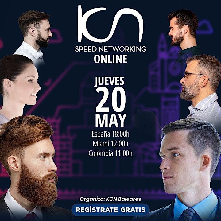 Imagen de KCN Baleares Speed Networking Online 20May
