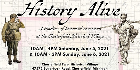 2021 History Alive: A Timeline of Historical Reenactors tickets