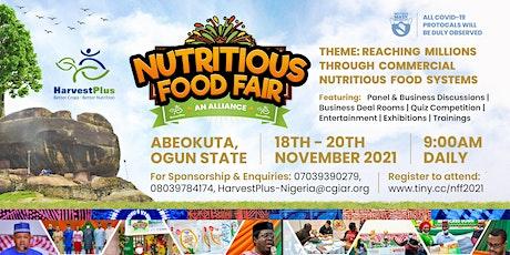 NUTRITIOUS FOOD FAIR  2021 tickets