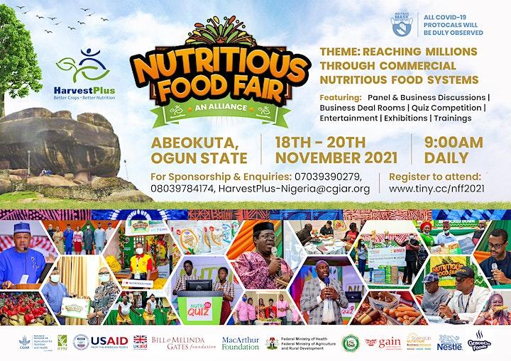 NUTRITIOUS FOOD FAIR  2021 image