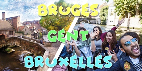 Weekend Bruges & Bruxelles & Gand - 19-20 juin tickets