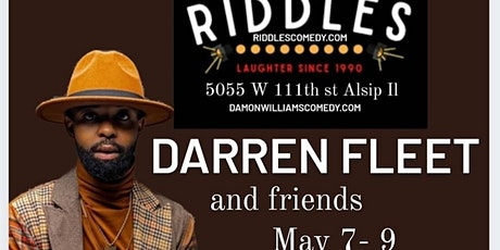 Darren Fleet and Friends Presented by Damon Williams  at Riddles tickets